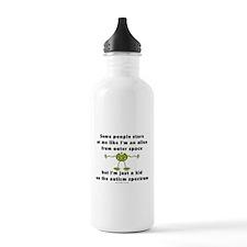 Autism Alien Water Bottle