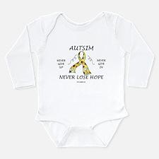 Autism Hope Long Sleeve Infant Bodysuit