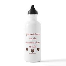 Grandkids & Chocolate Water Bottle