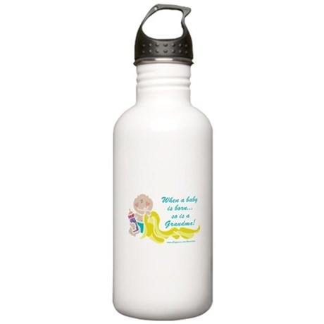 Grandma Is Born Stainless Water Bottle 1.0L