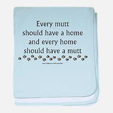 Every Mutt baby blanket