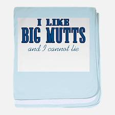 I Like Big Mutts baby blanket