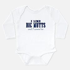 I Like Big Mutts Long Sleeve Infant Bodysuit