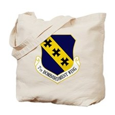 7th Bomb Wing Tote Bag