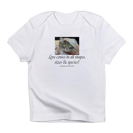 Love Comes (cat) Infant T-Shirt