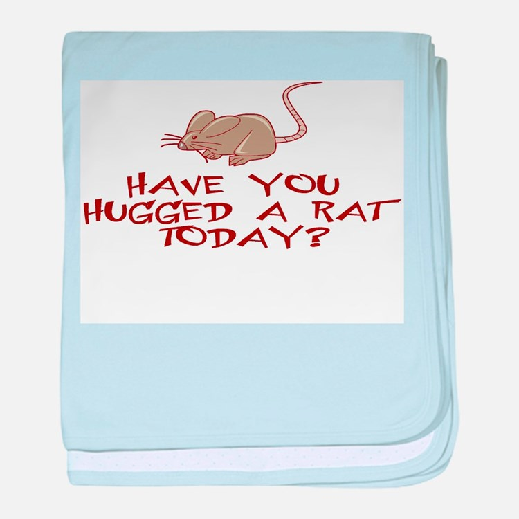 Rat Hug baby blanket