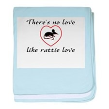 Rat Love baby blanket