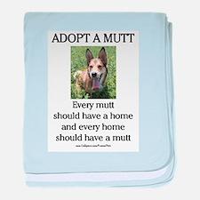 Mutt Home baby blanket