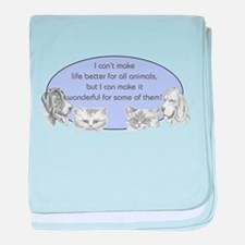 Better Pet Life baby blanket