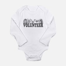 Volunteer Long Sleeve Infant Bodysuit