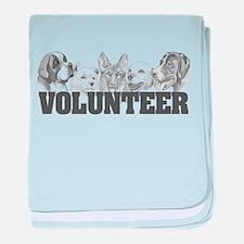 Volunteer (dogs) baby blanket