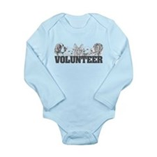 Volunteer (dogs) Long Sleeve Infant Bodysuit