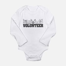 Volunteer (cats) Long Sleeve Infant Bodysuit
