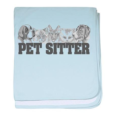 Pet Sitter baby blanket