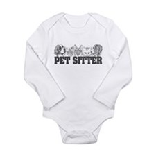 Pet Sitter Long Sleeve Infant Bodysuit