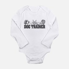 Dog Trainer Long Sleeve Infant Bodysuit