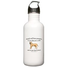 Mastif Pawprints Sports Water Bottle