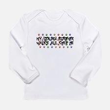 Retriever Walks Long Sleeve Infant T-Shirt