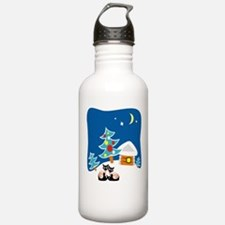 Christmas Siamese Water Bottle
