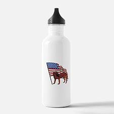 Patriotic Pup Water Bottle