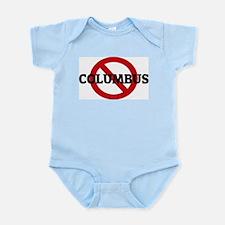 Anti-Columbus Infant Creeper