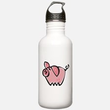 Cute Cartoon Pig Water Bottle