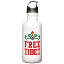 Free Tibet Water Bottle