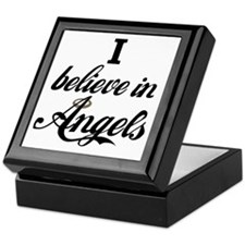 I BELEIVE IN ANGELS Keepsake Box