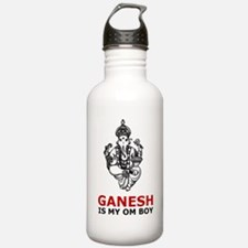 Hinduism Ganesh Is My Om Boy Water Bottle
