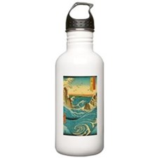 Hiroshige Navaro Rapids Water Bottle