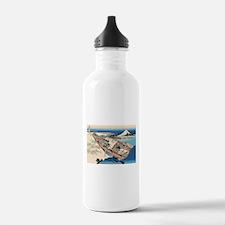 Funny Ukiyo e Water Bottle