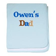 Owen's Dad baby blanket