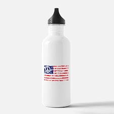 Vintage Peace In America Sports Water Bottle