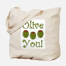 Ollive You Tote Bag