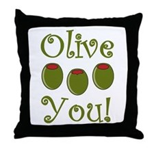 Ollive You Throw Pillow
