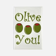 Ollive You Rectangle Magnet (100 pack)
