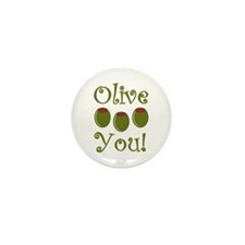 Ollive You Mini Button (100 pack)