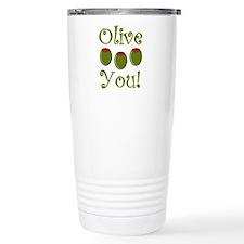 Ollive You Ceramic Travel Mug