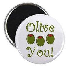 "Ollive You 2.25"" Magnet (100 pack)"