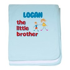 Logan - The Little Brother baby blanket