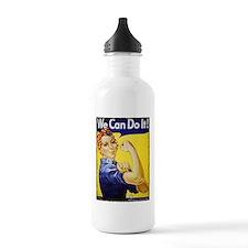 Vintage Rosie The Riveter Water Bottle