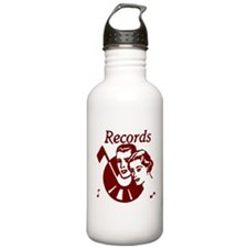 Records Sports Water Bottle