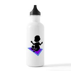 Cute Yoga Baby Water Bottle