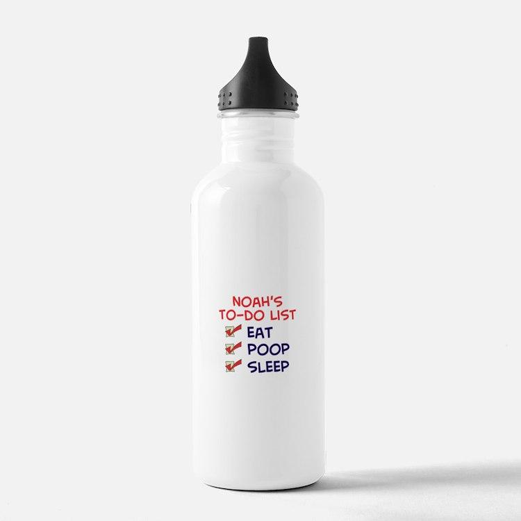 Noah's To-Do List Water Bottle