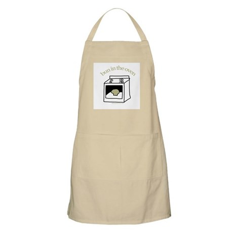 Bun in the oven BBQ Apron