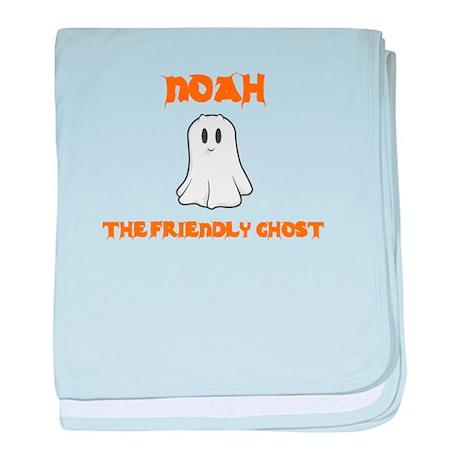 Noah the Friendly Ghost baby blanket