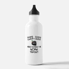Noah Train Water Bottle