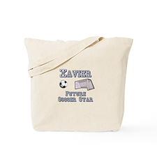 Xavier - Future Soccer Star Tote Bag
