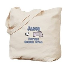 Jacob - Future Soccer Star Tote Bag