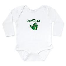 Samzilla Long Sleeve Infant Bodysuit